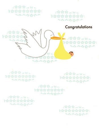 Congrats Stork|Designs by Val