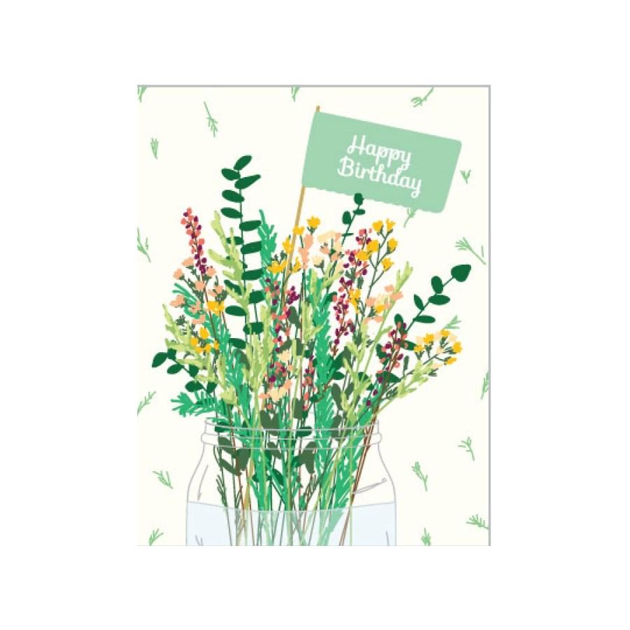 Flora Birthday 4.25x5.5|Designs by Val
