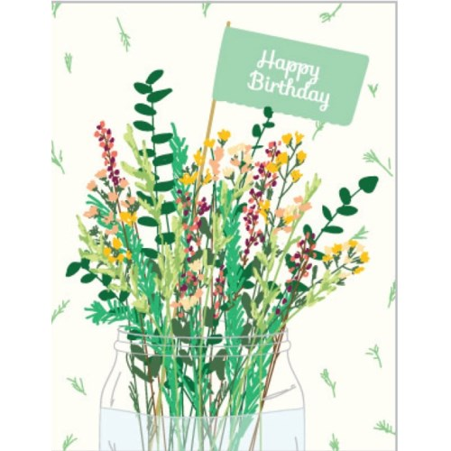 Flora Birthday 4.25x5.5|Designs by Val