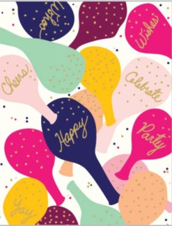 Happy Balloons 4.25x5.5|Designs by Val