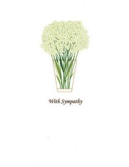 Sympathy Flora 4.25x5.5|Designs by Val