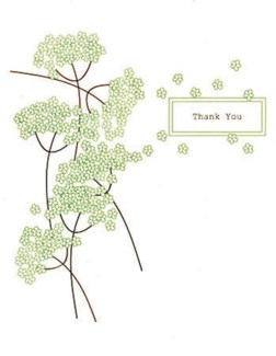 TY White Blossoms 4.25x5.5|Designs by Val