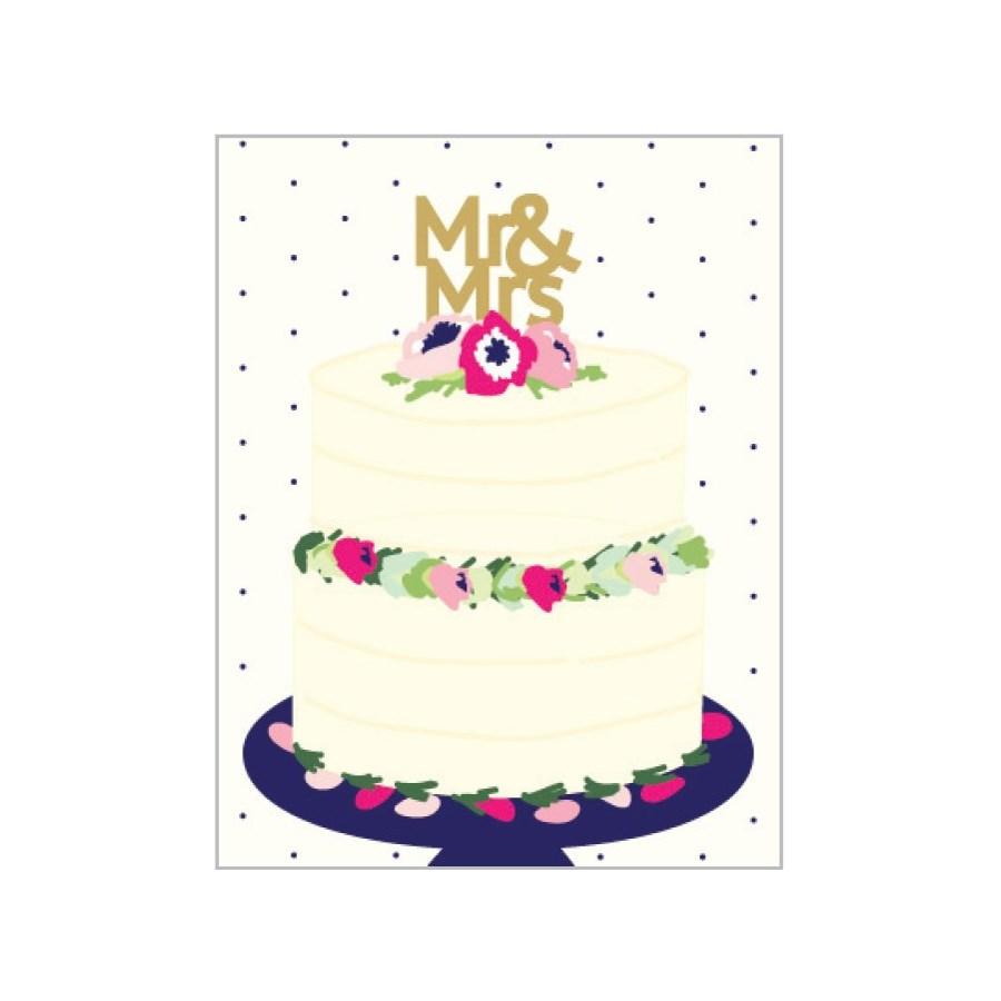 Mr & Mrs 4.25x5.5|Designs by Val