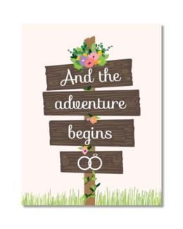 Adventure Begins|Designs by Val