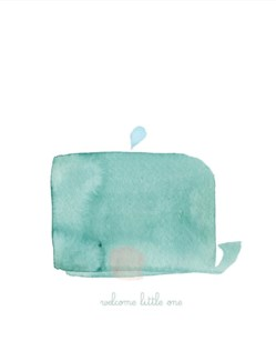 Welcome Little One Whale 4.25x5.5|E Frances Paper