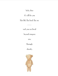 Baby Dear 4.25x5.5|E Frances Paper