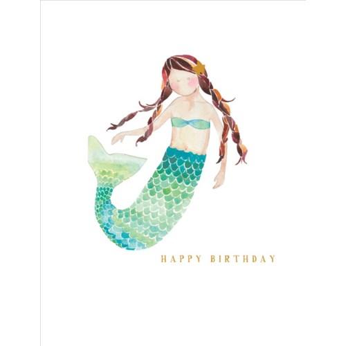Mermaid 4.25x5.5|E Frances Paper