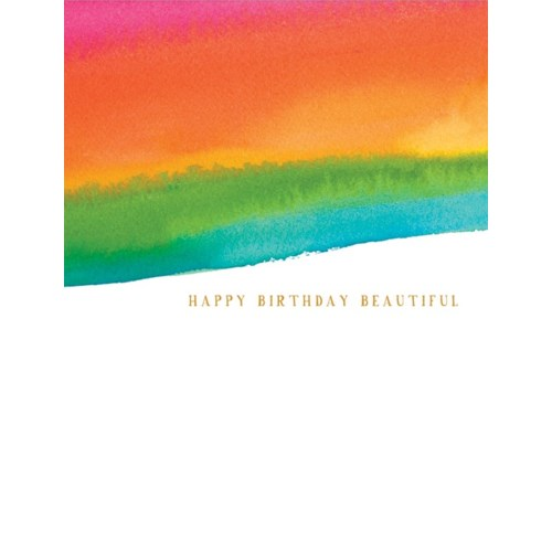 Beautiful Birthday 4.25x5.5|E Frances Paper