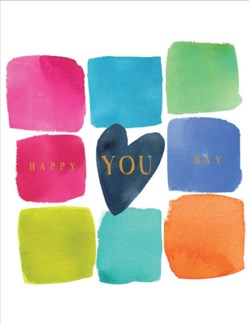 Happy You Day 4.25x5.5|E Frances Paper