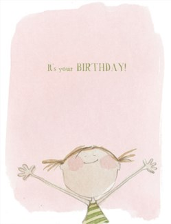 It's Your Birthday! 4.25x5.5|E Frances Paper