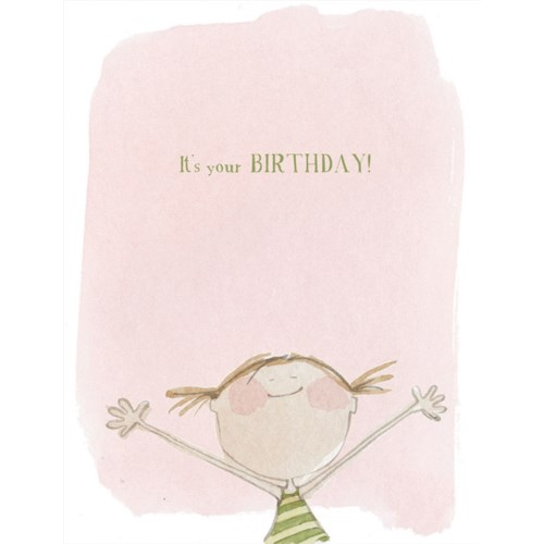 It's Your Birthday! 4.25x5.5|E Frances Paper