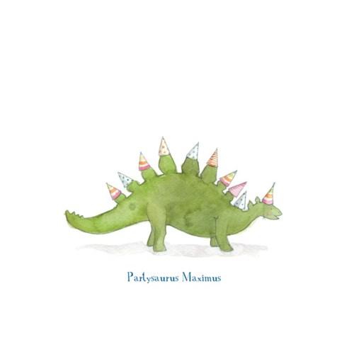 Partysaurus 4.25x5.5|E Frances Paper