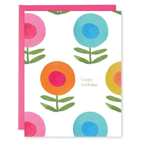 Happy Flowers E Frances Paper