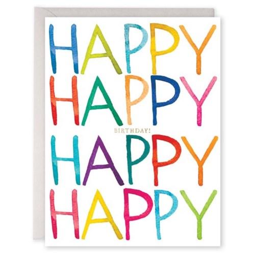 Really Happy Birthday E Frances Paper