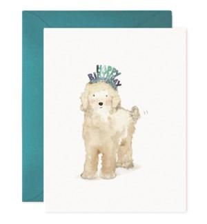 Lucky Dog Birthday|E Frances Paper
