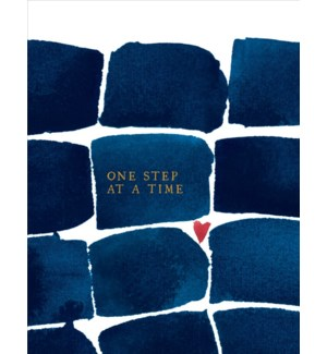 One Step At A Time|E Frances Paper