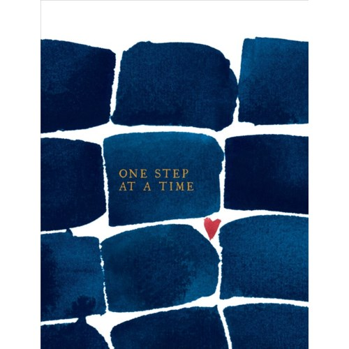 One Step At A Time 4.25x5.5|E Frances Paper