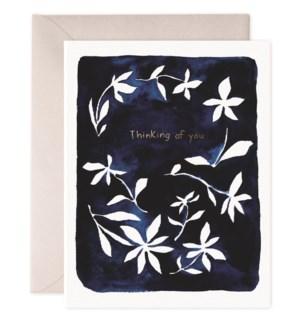 Indigo Flowers|E Frances Paper