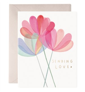 Sending Love|E Frances Paper