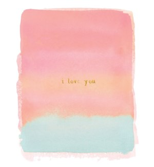 I Love You 4.25x5.5|E Frances Paper