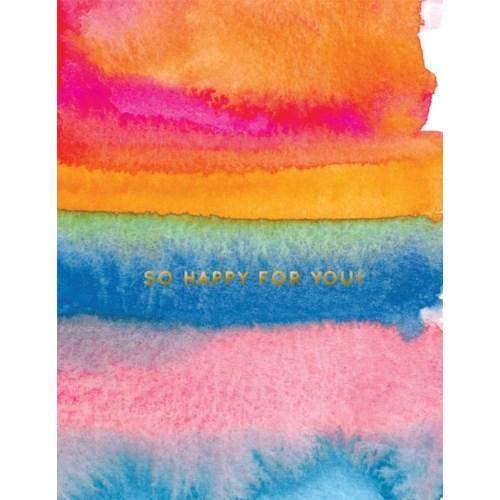 So Happy For You Foil 4.25x5.5|E Frances Paper