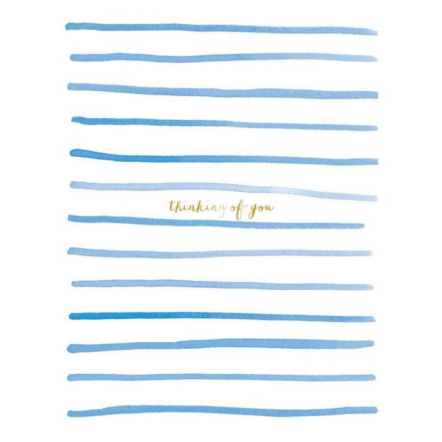Stripes Thinking of You 4.25x5.5|E Frances Paper