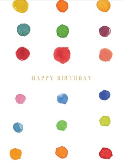 Birthday Dots 4.25x5.5|E Frances Paper