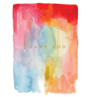 Colorful Thanks|E Frances Paper