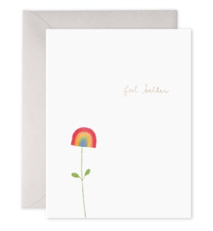 Rainbow Flower 4.25x5.5|E Frances Paper