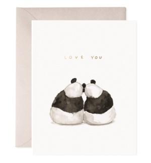 Panda Pair|E Frances Paper