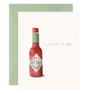 Hot Sauce|E Frances Paper