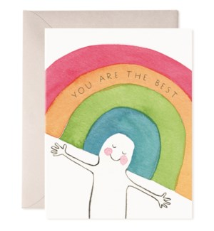 Rainbow Head|E Frances Paper