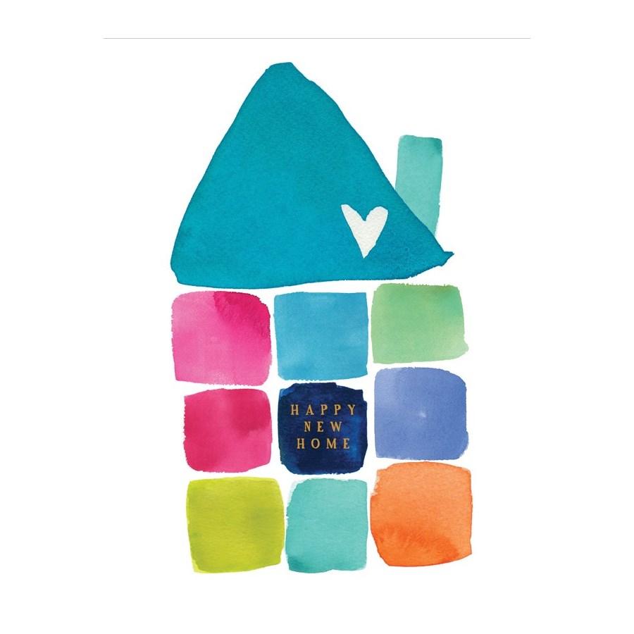 Happy New Home 4.25x5.5|E Frances Paper
