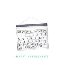 Retirement Saturdays 4.25x5.5|E Frances Paper
