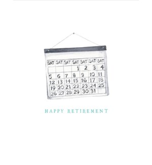Retirement Saturdays 4.25x5.5|E Frances Paper