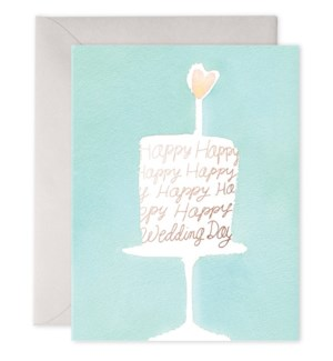 Wedding Cake 4.25x5.5|E Frances Paper