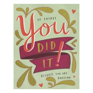 GC151-You Did It Greeting Card|Emily McDowell