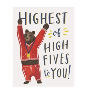 Highest of Fives|Emily McDowell