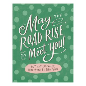 GC322-Road Rise Good Luck 4.25 X 5.5|Emily McDowell