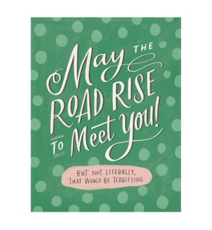 Road Rise Good Luck|Emily McDowell