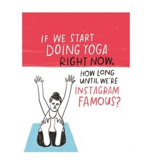 Yoga Instagram Famous|Emily McDowell