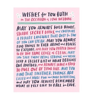 Wishes For You Both Wedding|Emily McDowell