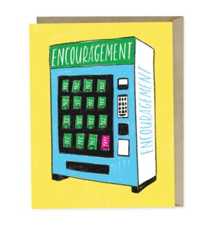 Encouragement Vending|Emily McDowell