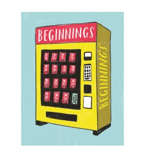 New Beginnings Vending|Emily McDowell