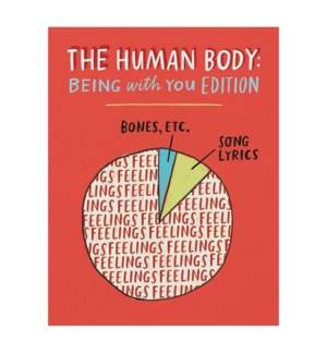 Human Body Pie Chart|Emily McDowell