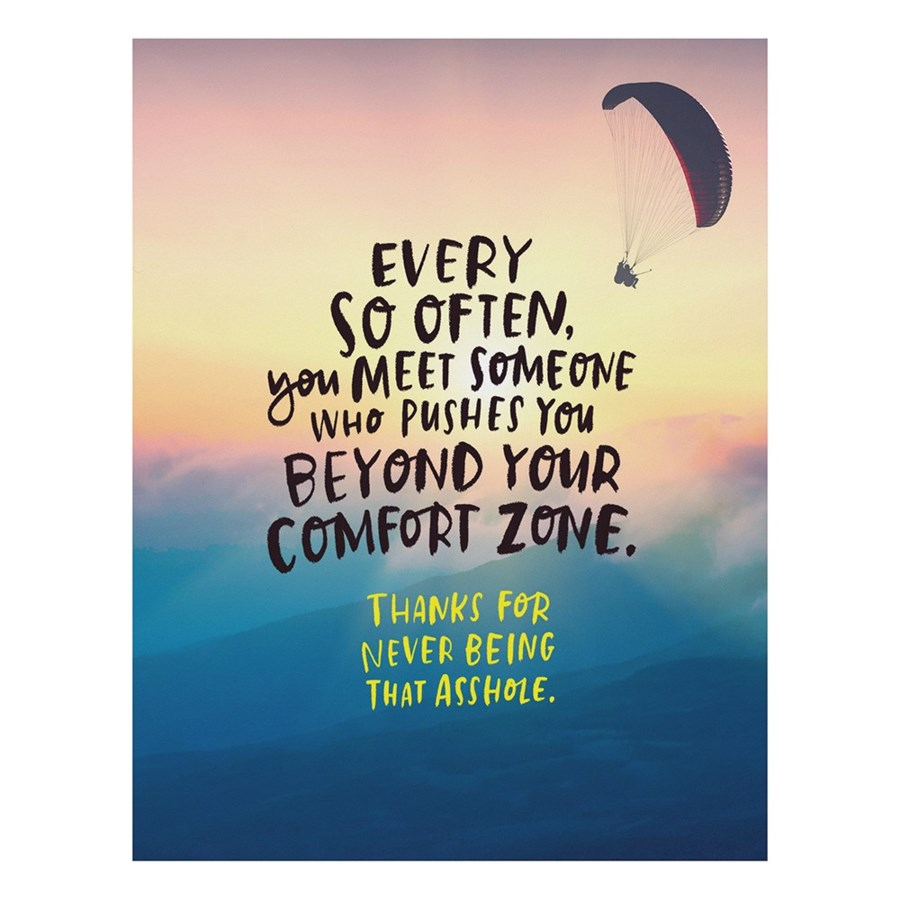 Comfort Zone Emily McDowell