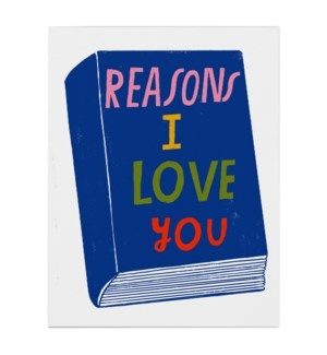 Reasons I Love You|Emily McDowell
