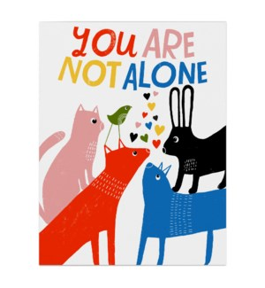 You Are Not Alone|Emily McDowell