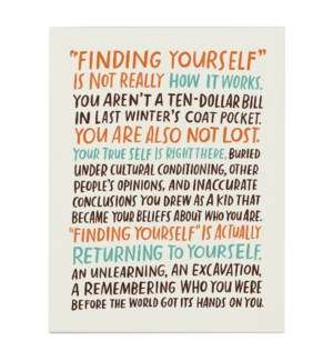 Finding Yourself|Emily McDowell