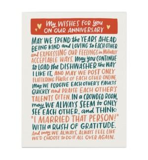 Anniversary Wishes|Emily McDowell